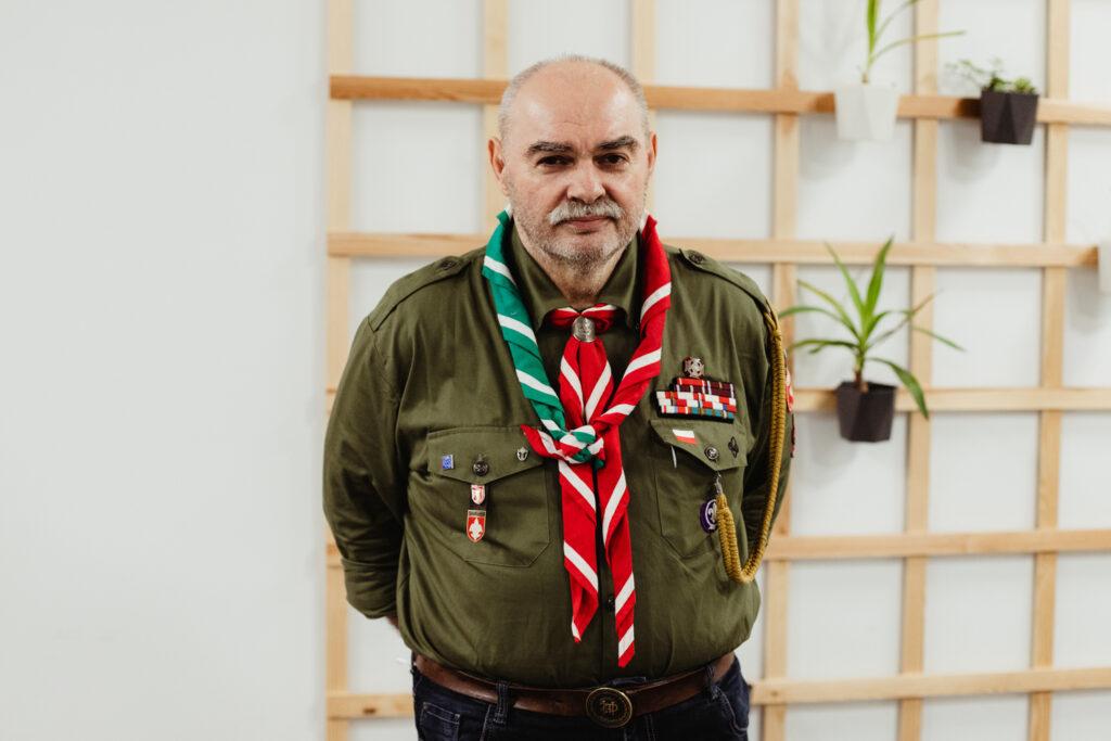 nowy naczelnik zhp hm. Grzegorz Woźniak